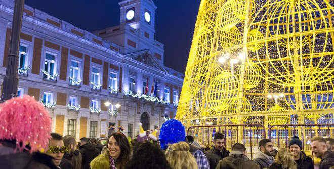 Este a o celebramos en la puerta del sol de madrid la for Puerta del sol 2017